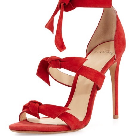 354456ff6bf1 Alexandre Birman Shoes - Alexandre Birman- Lolita Knotted Suede Sandal